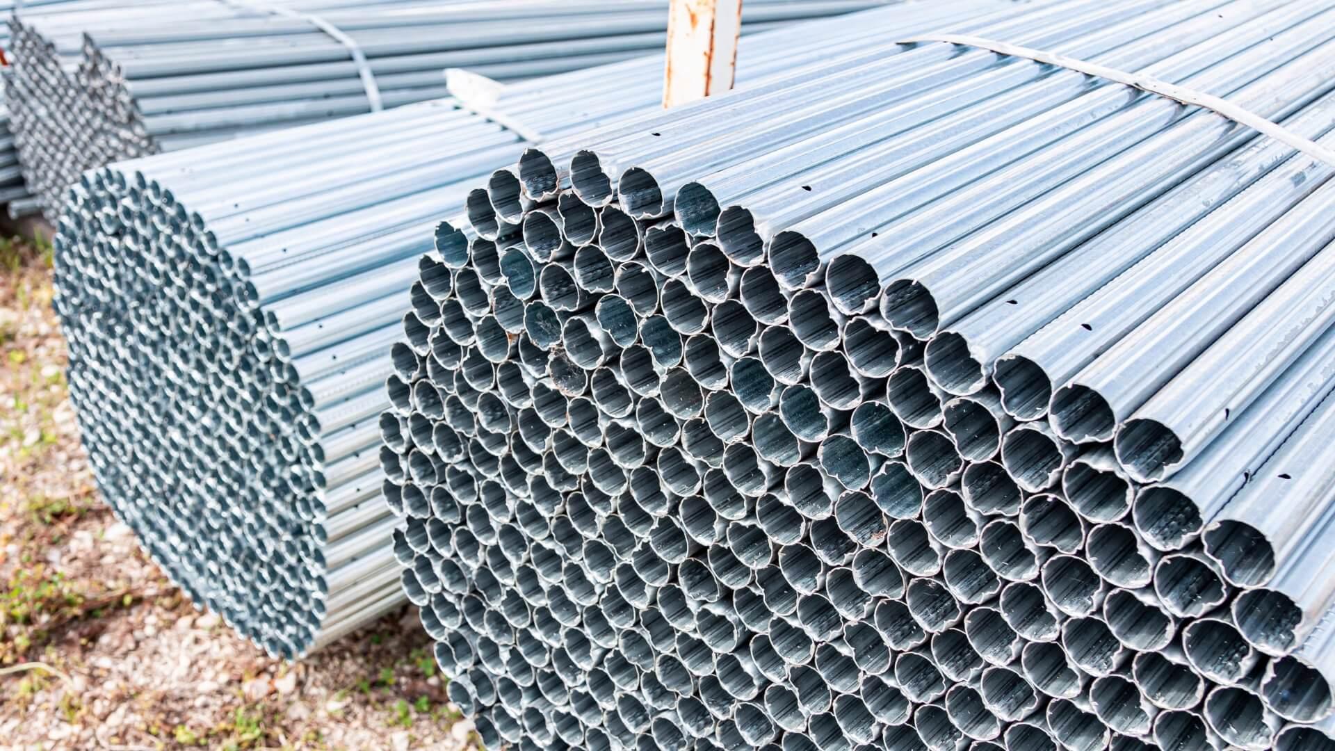 Tubolari in acciaio zincato